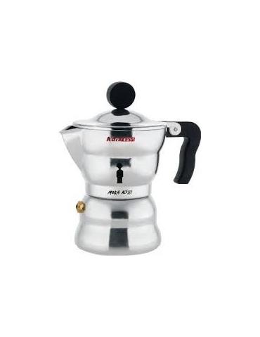 """Caffettiera espresso in fusione di alluminio \\""""Moka\\"""" ALESSI AAM33/1 - Mega 1941"""