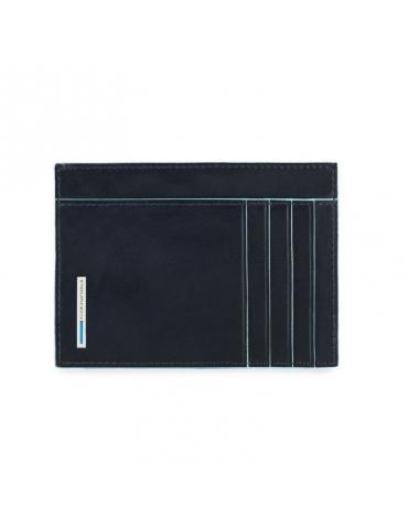 Bustina porta carte di credito Piquadro Blue Square PP3892B2 - Mega 1941