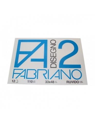 Blocco Fabriano F2 534 Ruvido 33x48 215 - Mega 1941