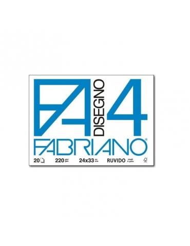 Blocco Fabriano F4 597 Ruvido 24x33 218 - Mega 1941