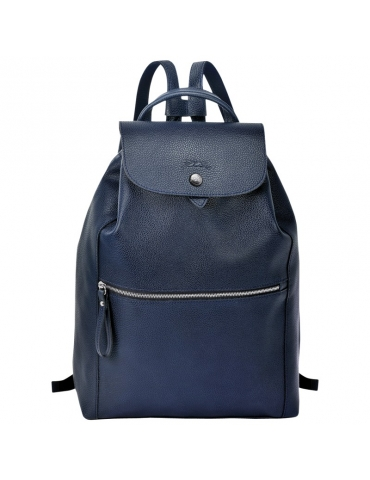 Borsa Longchamp Le Foulonné Backpack Blu
