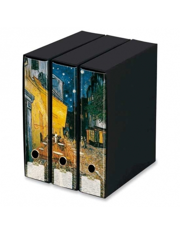 Raccoglitori Trittici Kaos Van Gogh - Terrazza Del Caffè
