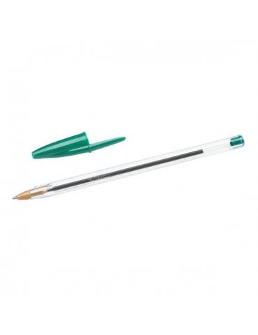 Penna a sfera BIC Cristal Original Verde