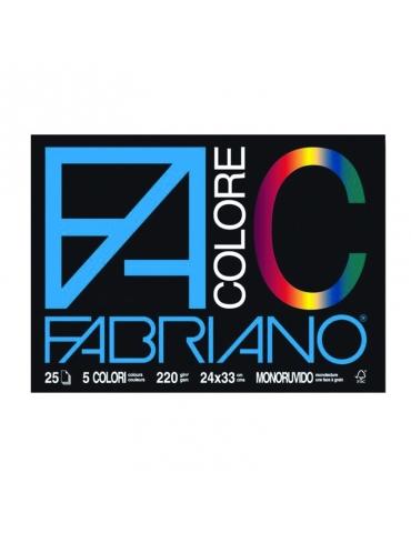 Album da Disegno Colorato F4 Ruvido 24x33 cm