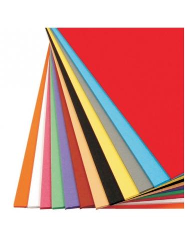 Cartoncino Bristol Monoruvido 50 x 70 cm - Colori Assortiti