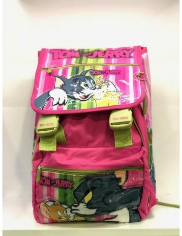 Zaino Scuola Elementare Bambina Tom and Jerry
