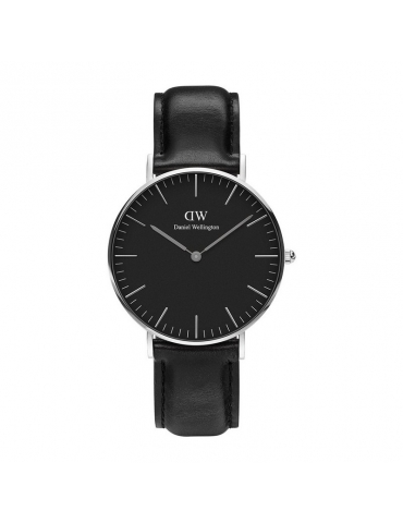 Orologio Daniel Wellington Donna Classic Black Sheffield Silver
