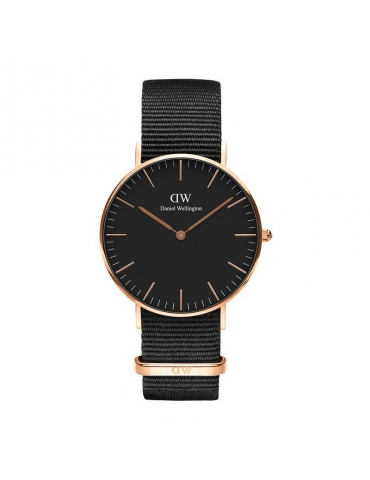 Orologio Daniel Wellington Donna Classic Black Cornwall Rose Gold