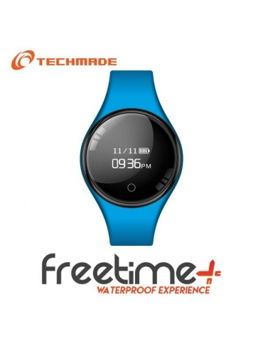 Smartwatch Techmade Freetime Azzurro/Blu