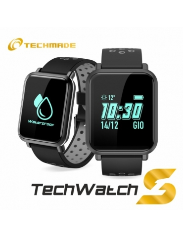 Smartwatch Techmade Techwatch S1 Nero/Grigio