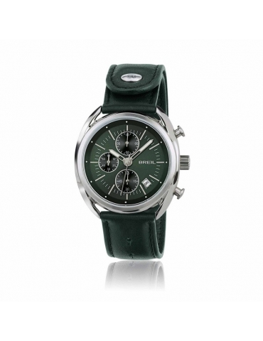 Orologio Breil Uomo Beaubourg Silver Green