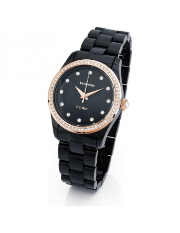Orologio Brosway Donna T-Color Black Rose Gold