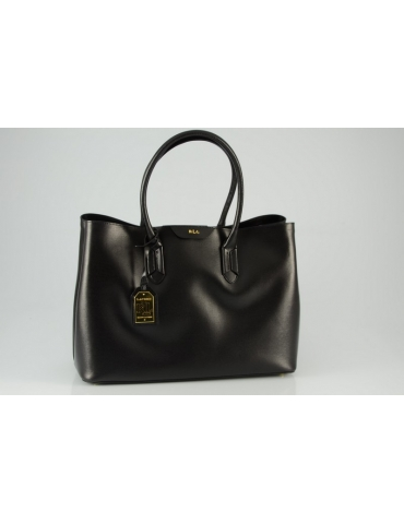 Borsa Ralph Lauren Donna Tate City Shopper Black