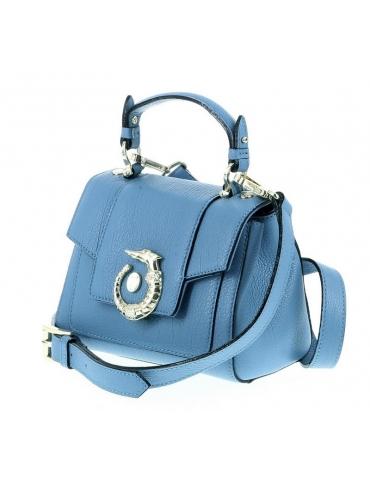 Borsa Trussardi Donna Lovy Bag Mini Celeste