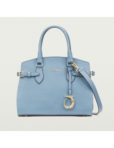 Borsa Trussardi Elite Tote Small Calf Leather Print