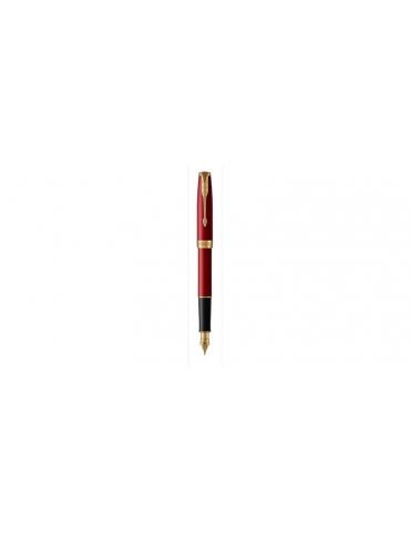 Penna Parker Stilografica Sonnet Red Lacquer GT