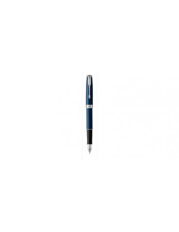 Penna Parker Stilografica Sonnet Blue Lacquer CT