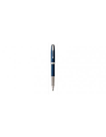 Penna Parker Roller Premium Sonnet Blue Lacquer CT