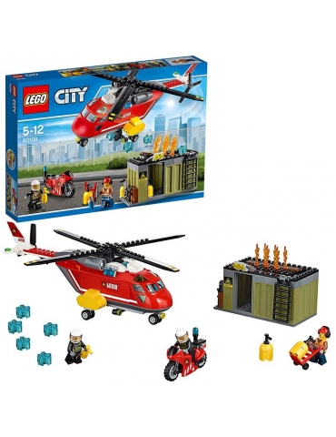 LEGO City Unità di risposta antincendio