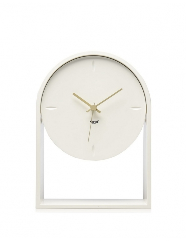 Orologio Kartell Air Du Temps Bianco