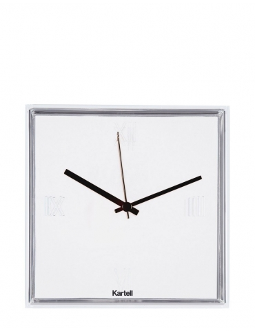 Orologio Kartell Tic&Tac Bianco/Trasparente