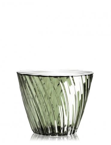 Tavolino Kartell Sparkle Verde Salvia
