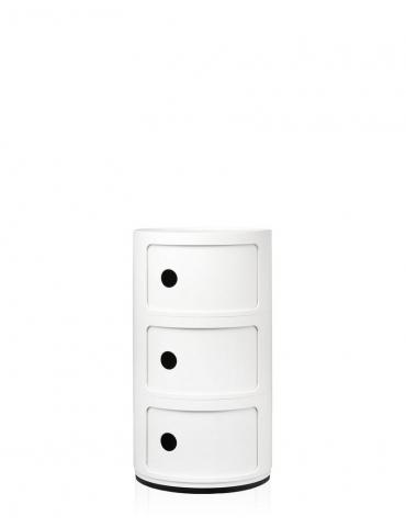 Mobile Contenitore Kartell Componibile Bianco