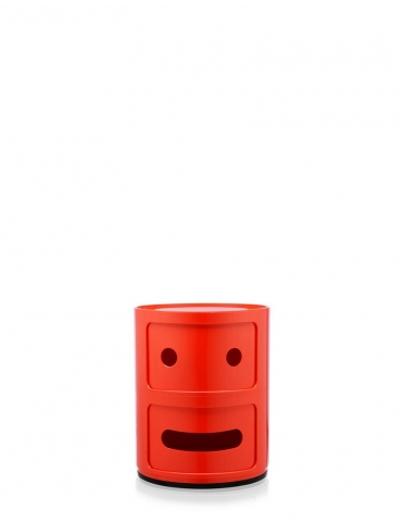 Mobile Contenitore Kartell Componibile Smile Rosso