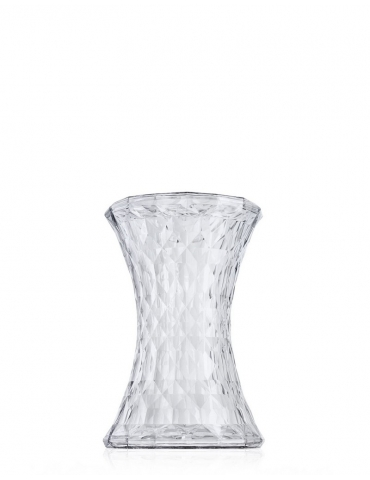 Sgabello/Tavolino Kartell Stone Cristallo