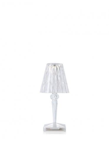 Lampada da Tavolo Kartell Battery Cristallo