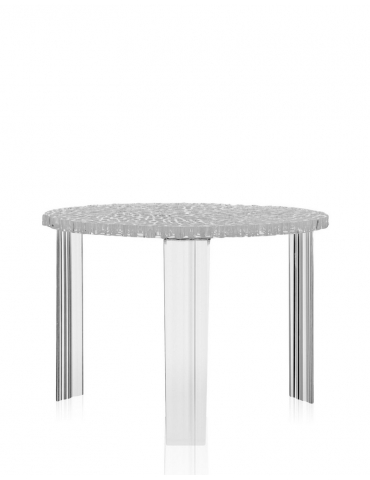 Tavolino Kartell T-Table Cristallo