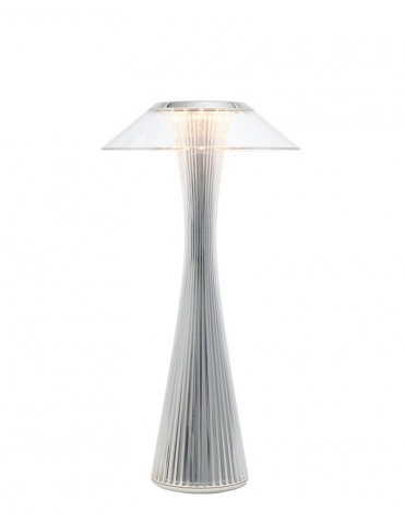 Lampada da Tavolo Kartell Outdoor Space Cristallo