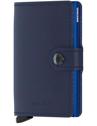 Portacarte Secrid Miniwallet Original Navy-Blue