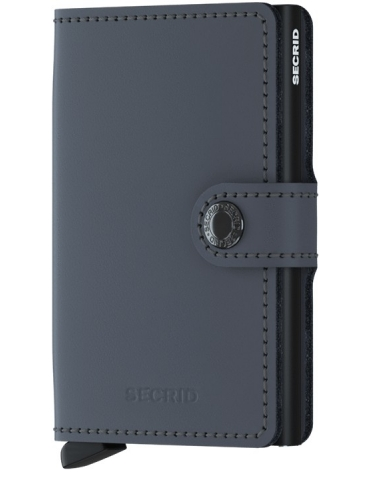Portacarte Secrid Miniwallet Matte Grey-Black