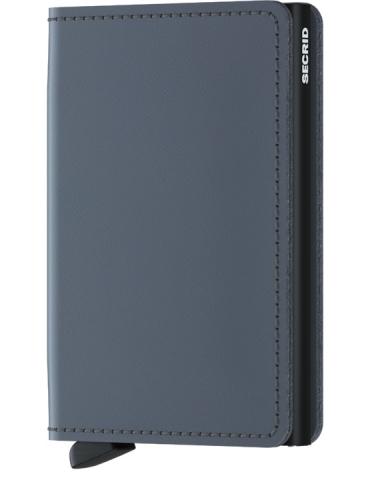 Portacarte Secrid Slimwallet Matte Grey-Black