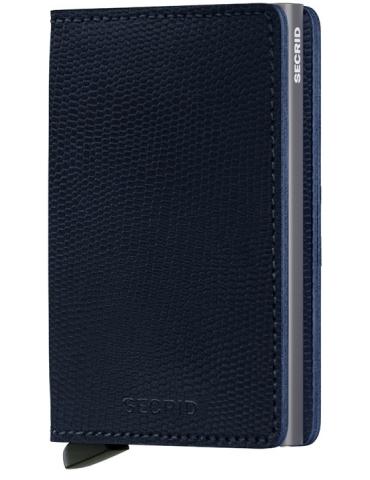 Portacarte Secrid Slimwallet Rango Blue-Titanium