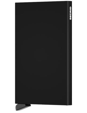 Portacarte Secrid Cardprotector Alluminio Nero