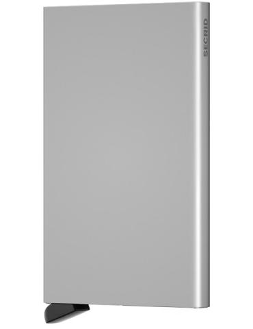 Portacarte Secrid Cardprotector Alluminio Argento