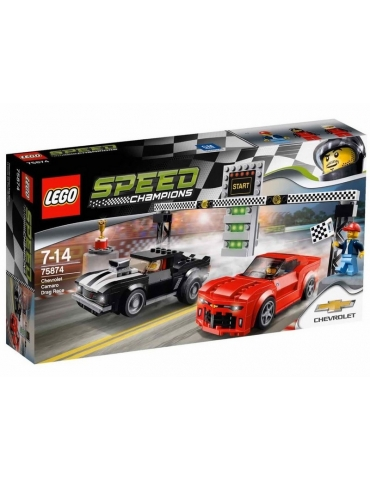 LEGO Speed Champions Gara di Accelerazione Chevrolet Camaro