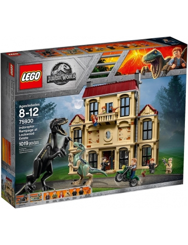 LEGO Jurassic World Attacco dell'Indoraptor al Lockwood Estate