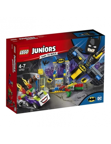 LEGO Juniors DC SuperHeroes Batman: Attacco alla Bat-Caverna di Joker
