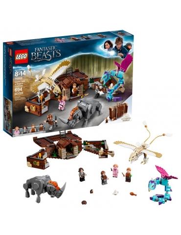 LEGO Harry Potter La Valigia delle Creature Magiche di Newt