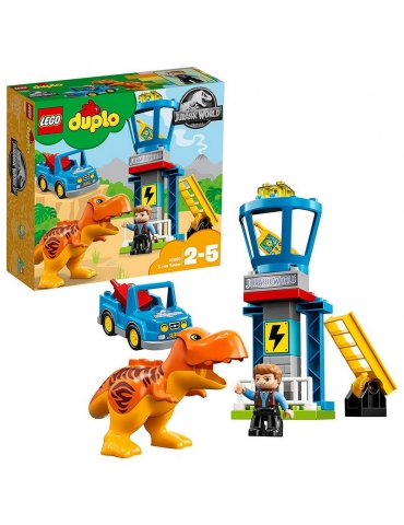 LEGO Duplo Jurassic World La torre del T-Rex
