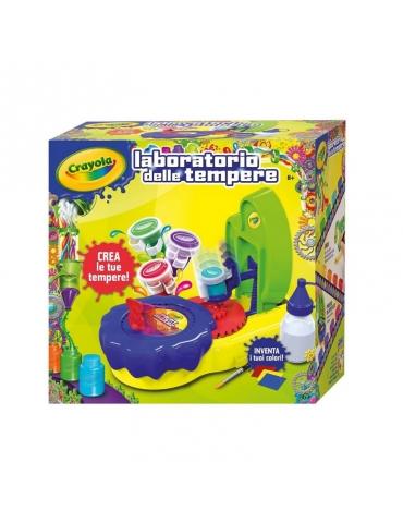 Gioco Creativo Crayola Laboratorio delle Tempere