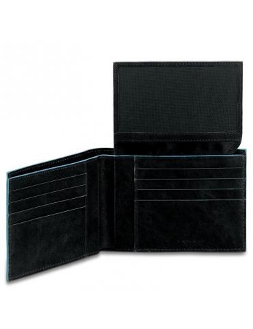 Portafoglio Piquadro uomo con portadocumenti, comparti per banconote e carte di credito PU1517B2 - Mega 1941