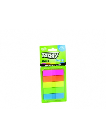 Segnapagina Taggy Pool Over 12x45 mm Pop Up 5 Colori