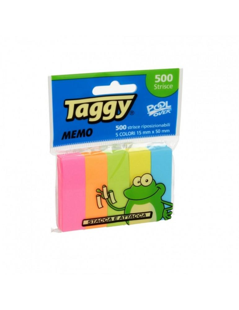 Segnapagina Taggy Pool Over 15x50 mm Carta 5 Colori