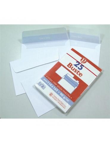 Busta Edera 11,4x16,2 con Strip Adesivo Conf. 25 Pezzi