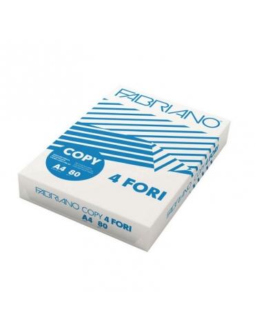 Risma Fabriano Copy 2 4 Fori Fotocopie Bianca A4 500 Fogli