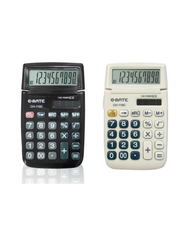 Calcolatrice E-Mate Pool Over Pool Digit Tascabile
